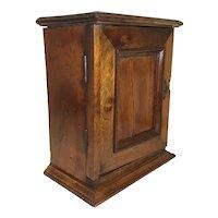Great Antique Hardwood Display Cupboard
