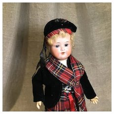 "12"" Scottish Lad by AM in Great Original Garb"