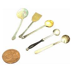 Set of Vintage DollHouse/German Kitchen Tools