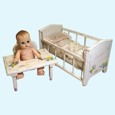 Vogue Ginnette, Crib and Baby Tender