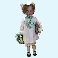 """36"""" AM 390 Doll All Ready For Springtime"""