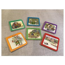"Complete Set Of ""The Wind in the WIllows"" Miniature Books"