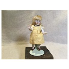 "4"" PE Kestner with Blond wig and Heeled Two Strap Shoes"