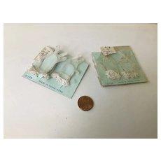 """2 Pair of 1950s Nylon Gloves for 15"""" to 20"""" Doll-OSS"""
