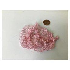 Soft Pink Vintage Doll Snood