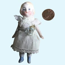 Wee All Bisque Doll House Little Sister