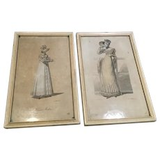 C.1820 Finely Done French Fashion Prints