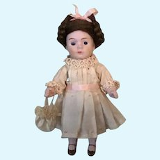 "Dear 4-1/2"" German Jointed All Bisque Doll"