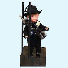 "5"" German Chimney Sweep Doll"