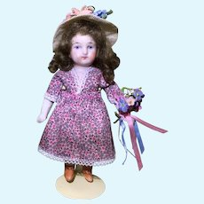 """5-1/2"""" German All Bisque Doll"""