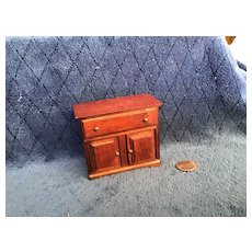 Well Made Vintage Doll House Washstand