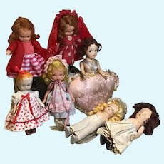NASB Painted Bisque and Friends Doll Assortment
