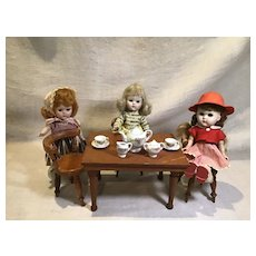 1950s Ginny and Friends Porcelain Teaset