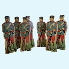 7 Marching Soldiers to Sit by Your Tree