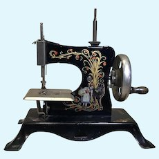 Pre WW2 Casige Red Riding Hood Sewing Machine