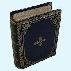"""Miniature """"Book"""" of a Deck of Cards"""