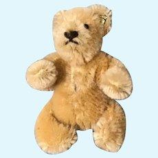 "Vintage Steiff Miniature Mohair ""Bendy"" Bear"
