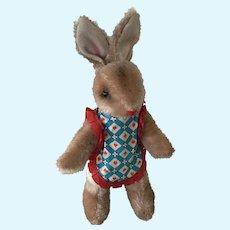 Mid Century Mohair Girl Bunny
