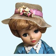 c.1959 Horsehair/Crine Hat for Cissy/Dollikin