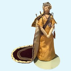"9"" Liberty of London ""Queen Mother Mary"" Cloth Doll"