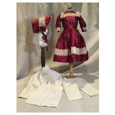 5 Piece Vintage Doll Replacement Outfit