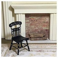 Dear Doll House Size Hitchcock Side Chair