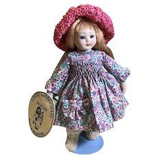 "Lynne & Michael Roche ""Minet Cherie""Mignonette Size Doll"