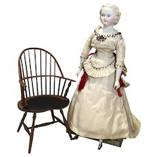 """19"""" Lee Ed Parian Type Doll in Lovely Outfit"""