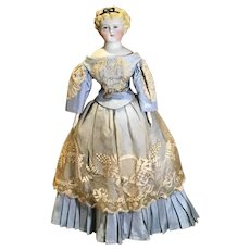 """14"""" Artist Dolly Madison Parian Type Replica Doll"""