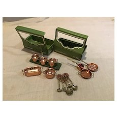 Best Bodo Hennig Copper Kitchen Accessory Lot