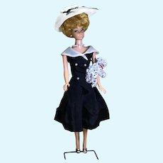C.1962/63 Blond Bubble Cut Barbie in After Five # 934 Set