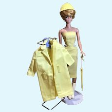 Bubble Cut Barbie in #949 Raincoat and #987 Sheath Dress