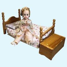 "10"" NASB Nancy Ann 10"" Fashion Doll, Bed and Hope Chest"