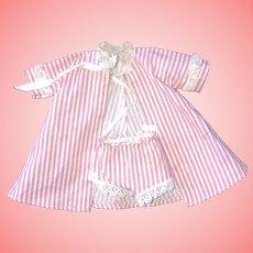 Madame Alexander-kins Tagged robe and panties 1950s