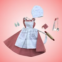 Vintage Barbie Q complete outfit 1960's
