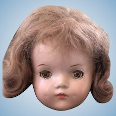 Madame Alexander composition Betty Doll ahead Nice!