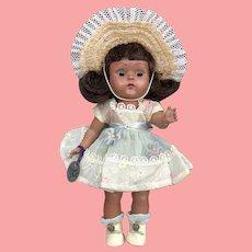Rare Black Vogue Strung Ginny Doll 1950's