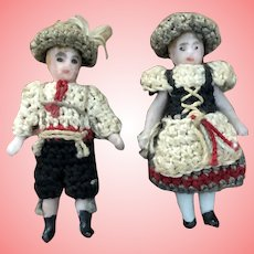 Carl Horn tiny All Bisque Pair