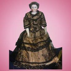 "12"" antique China Head Doll"