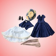 Madame Alexander Cissy Doll Outfit With hat and shoes