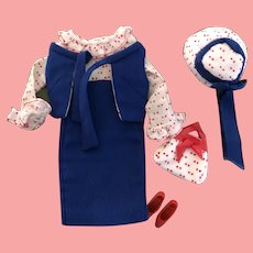 Francie Concert in the Park complete outfit 1960's