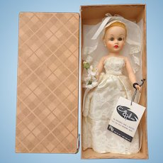 """10 ½"""" Coty Girl Bride Doll R & B Mint in Box with Tag"""
