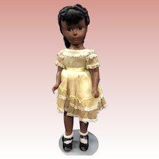 "Madame Alexander hard plastic Cynthia Doll 15"""