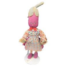 Anthropomorphic Eggplant Vegetable Doll Italy