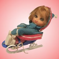 Mattel Liddle Kiddle Freezy Sliddle 1960's