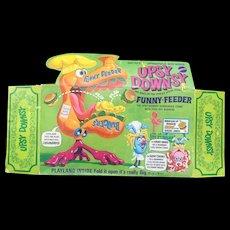 Rare 1960's Mattel Funny Feeder Upsy Downsy original box