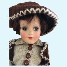 Mary Hoyer boy doll cowboy 1950's hard plastic