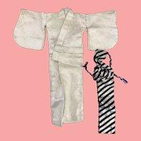 Vintage Barbie Japanese Exclusive Kimono and Obi 1960's