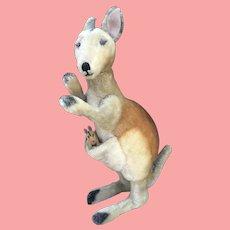 "20"" Steiff  Vintage Kangaroo with Joey excellent!"
