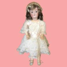 """19"""" Antique Kestner 168 Bisque Doll"""